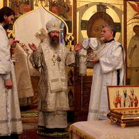 Архиерейское служение в праздник Обрезания Господня