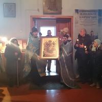Икона Божией Матери «Всецарица» принесена в Асино