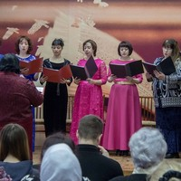 Концерт приходского хора завершил святочные вечера в Северске (видео)