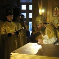 Митрополит Ростислав освятил храм в с. Зоркальцево