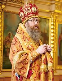 Митрополит Ростислав совершил Божественную литургию в Свято-Троицкой церкви