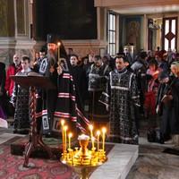 Архиерейское служение в Петропавловском соборе