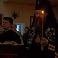 Митрополит Ростислав совершил Великое повечерие в Северске