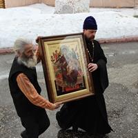 Икона «Всецарица» принесена в село Первомайское