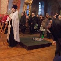 В Богоявленском соборе совершен молебен о прекращении абортов