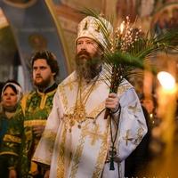 В праздник Входа Господня в Иерусалим богослужения прошли во всех храмах Томской епархии