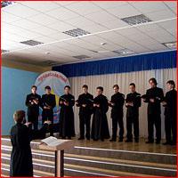 Хор Томской Духовной Семинарии принял участие в хоровом фестивале г. Новокузнецка