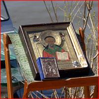 В день памяти святителя Николая Чудотворца начался традиционный водный Крестный ход по рекам Томь и Обь.