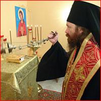 Освящение храма-часовни в честь иконы Божией Матери «В родах Помощница»