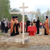 В деревне Крутоложное Первомайского района заложен храм