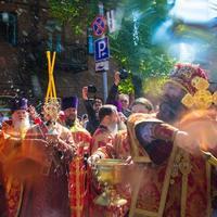 Томичи совершили Крестный ход в память св. первоучителей Кирилла и Мефодия