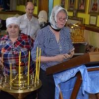 Жители Победы, Оськино и Киреевска помолились перед чудотворной иконой