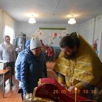 В чулымском селе Новошумилово впервые совершена Литургия
