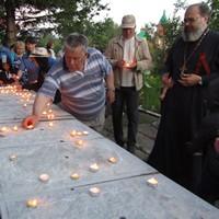 «Свеча памяти» зажглась в Октябрьском