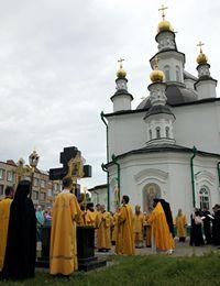В Томском монастыре почтили память первого в XX веке страдальца за веру Христову