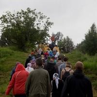 Крестный ход к месту кельи старца Феодора Томского прошёл в десятый раз