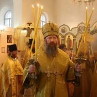 Митрополит Ростислав совершил Литургию в старейшем больничном храме Томска