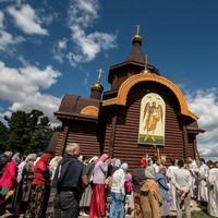 Митрополит Ростислав совершил Божественную литургию в с. Заварзино