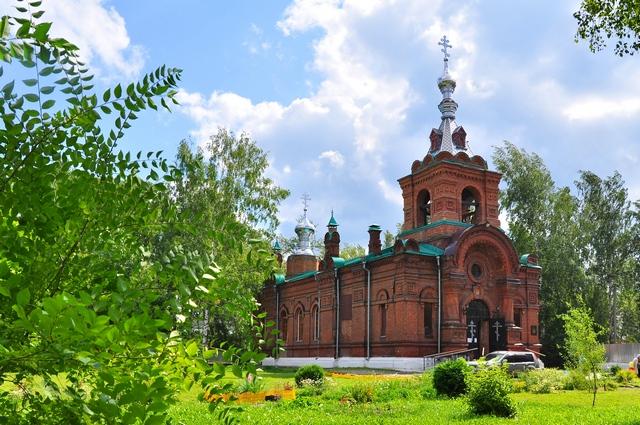Церковь Петра и Павла (Томск). Фото: прот. Андрей Туров