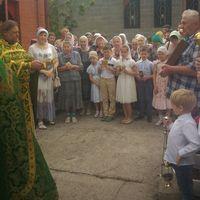 В Томске молитвенно отпраздновали годовщину обретения мощей преподобного Сергия Радонежского