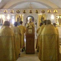 Митрополит Ростислав совершил праздничный молебен по случаю Дня крещения Руси в Богоявленском соборе