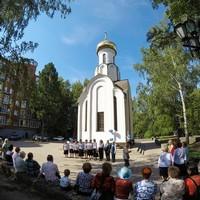 В День крещения Руси у Преображенской часовни был отслужен молебен