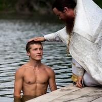 На озере в с. Губино состоялось крещение