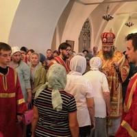 Ильинский придел Богоявленского кафедрального собора отмечает престольный праздник