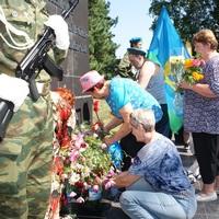 Ветераны ВДВ приняли участие в Крестном ходе в селе Первомайское