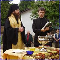 В д. Лоскутово заложен новый храм