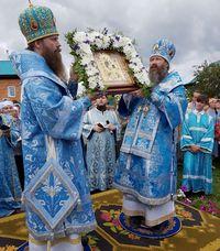 Архиереи Томской митрополии возглавили торжества в честь обретения Богородской иконы Богородицы