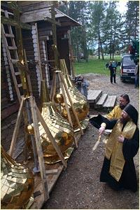 На  томской земле появляется ещё один храм Божий