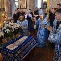 Архиерейское служение в канун праздника Успение Пресвятой Богородицы