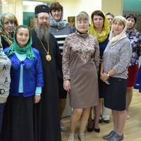 Учителя из Колпашевского района посетили храмы Томска и встретились с митрополитом Ростиславом