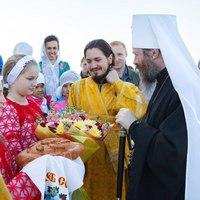 Престольный праздник отметил храм Спаса Нерукотворного села Коларово