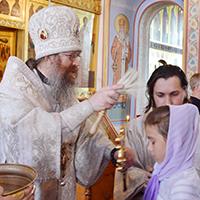 Митрополит Ростислав возглавил молебен на начало учебного года