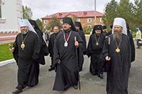 Митрополит Томский и Асиновский Ростислав посетил торжества по случаю юбилея Мариинской епархии
