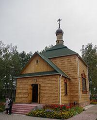 В с.Зырянском освящён новопостроенный храм в честь святителя Николая Чудотворца