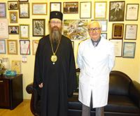 Митрополит Ростислав поздравил академика Карпова с 80-летием