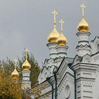 Престольный праздник отметил храм святого благоверного великого князя Александра Невского