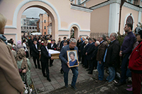 В Богоявленском соборе г.Томска состоялось отпевание Ирины Евтушенко