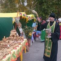 Фестиваль «Золотая береста» в Асино начался с молитвы