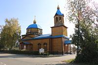 В храме села Зоркальцево прошла литургия в честь священномученика Константина Голубева