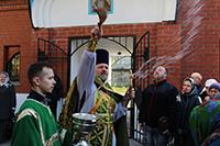 Юбилейный престольный праздник отметил храм преподобного Сергия Радонежского