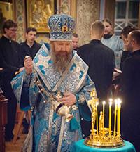 Митрополит Ростислав отслужил заупокойную литию по архимандриту Науму (Байбородину).