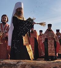 В селе Батурино Томского района заложили храм