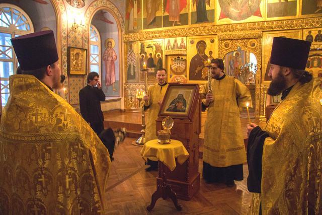 Праздничное богослужение в Богоявленском соборе г. Томска