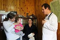 Православные врачи провели приём пациентов в отдаленном селе