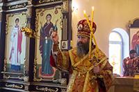 В  храме с. Богашево совершена Литургия архиерейским чином