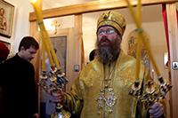 Митрополит Ростислав возглавил Божественную литургию в д. Кисловка